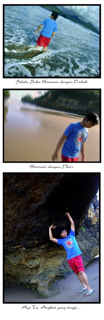 narsis di pantai pelangi
